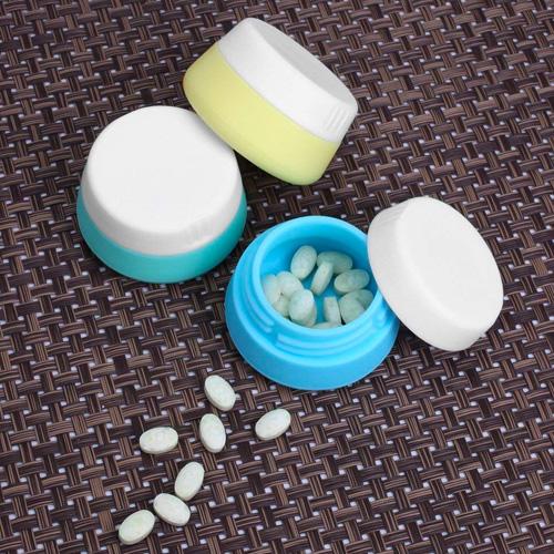 Silicone Cream Jars Set of 3