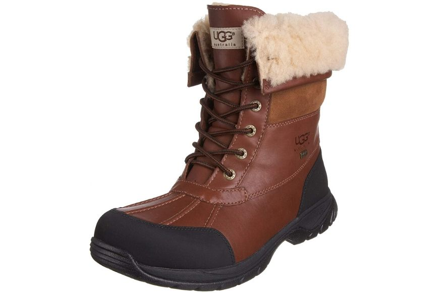Mens Snow Boots Winter Ankle Booties Anti-Slip Fur Lined Warm Snow Shoes Size
