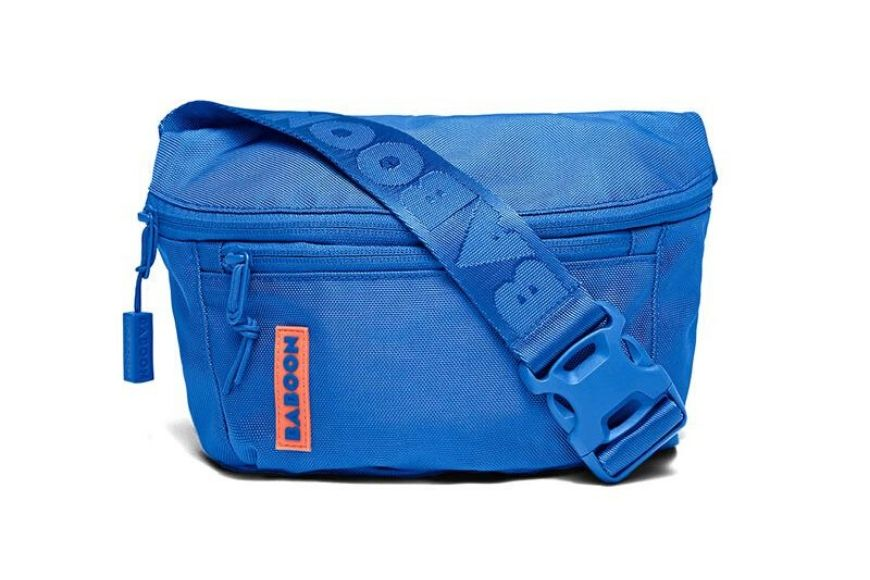 Baboon sling bag blue.