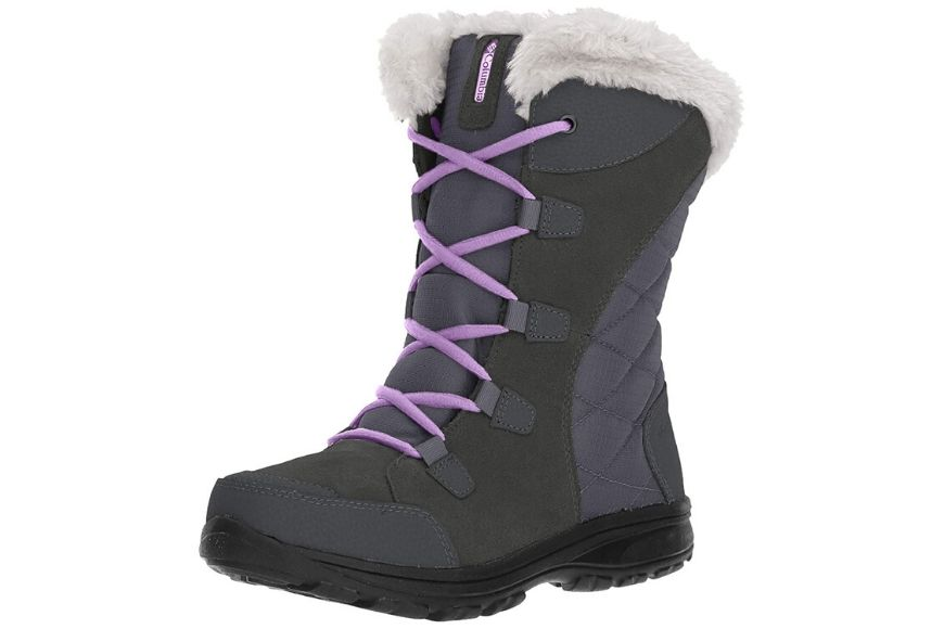 Columbia women's ice maiden ii insulated snow boot.