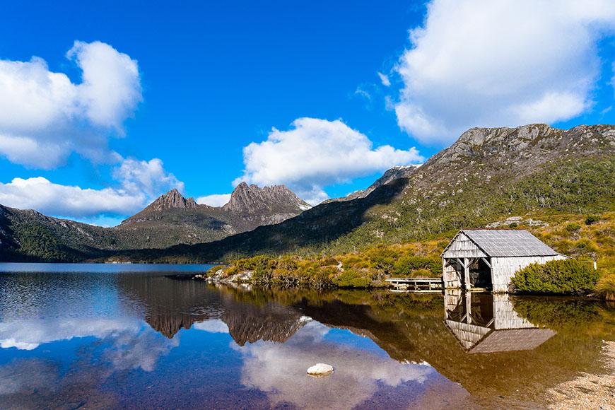 cradle mountain dove lake.