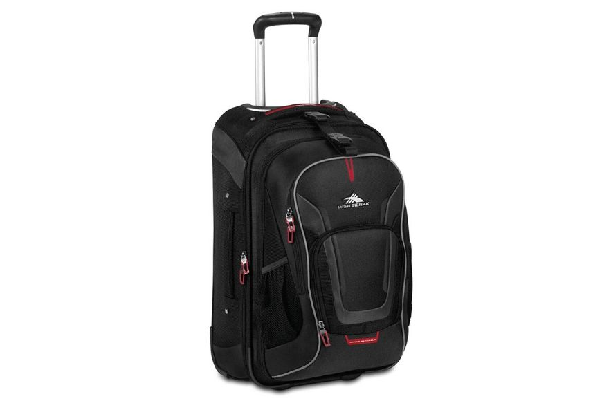 High sierra at7 outdoor rolling backpack.