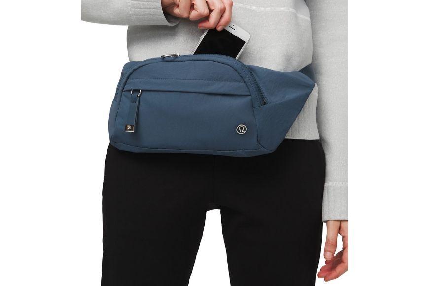 lululemon on the belt bag.