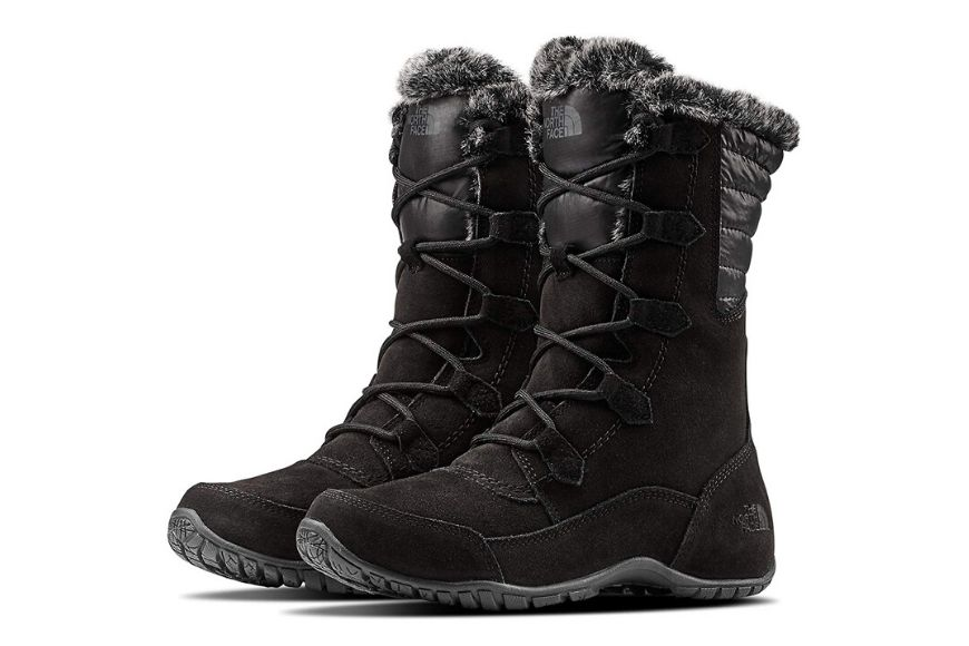 The north face nuptse purna women's winter boots.