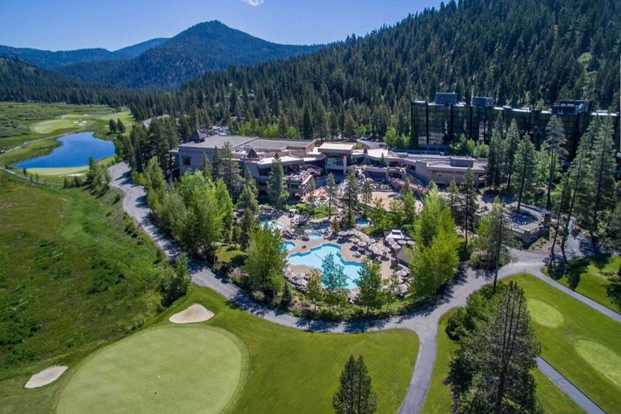 Resort at squaw creek: olympic valley, california.