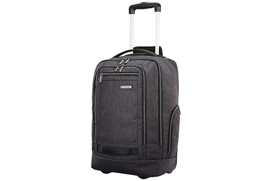 Samsonite modern utility convertible wheeled backpack.