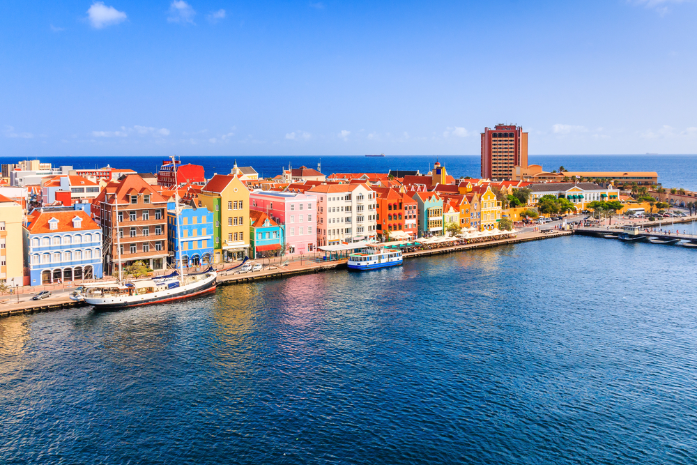 view of willemstad curacao