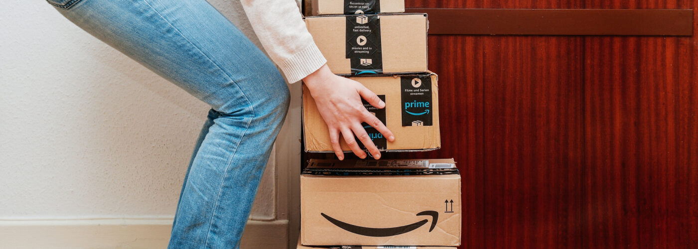 woman-lifting-amazon-packages