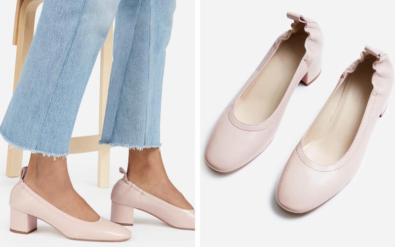 comfortable heels everlane