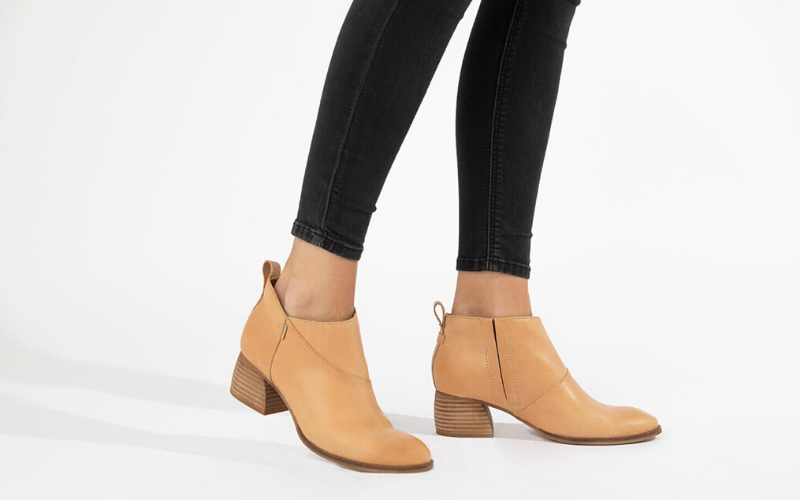comfortable low ankle boot