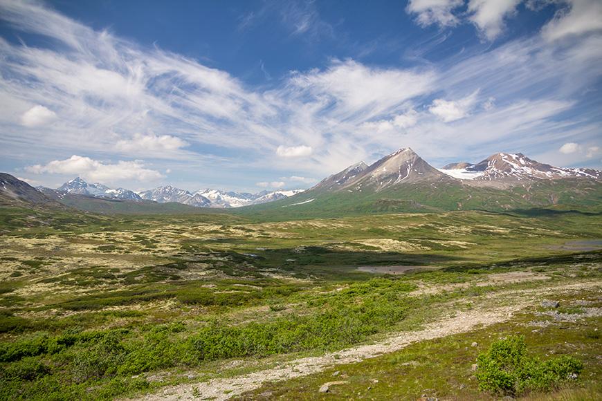 Mountains of tatshenshini-alsek provincial park