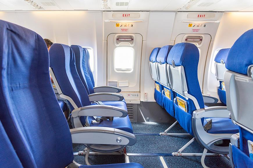 airplane seats exit row