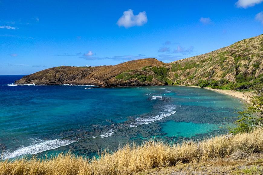 Beach view in kauai, Hawaii