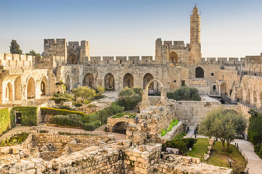 jerusalem tower of david.