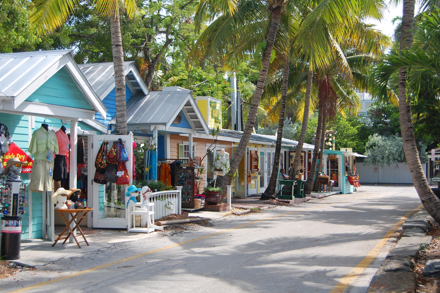 Key west florida street.