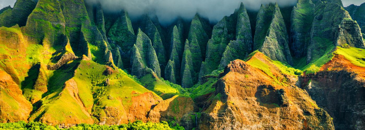 na pali kauai hawaii