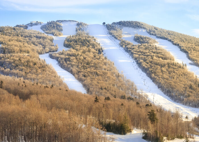 Killington ski trails.