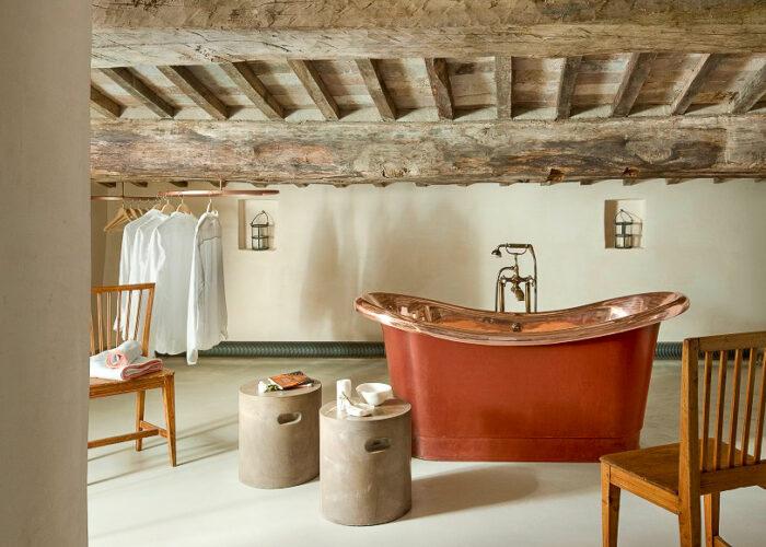 Monteverdi Tuscany Room 6 bath