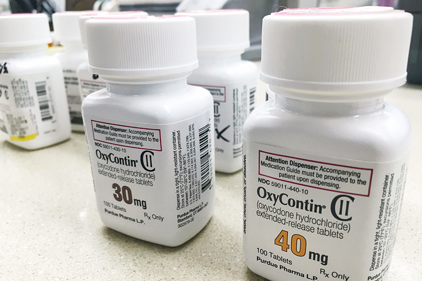 oxycontin pills bottle