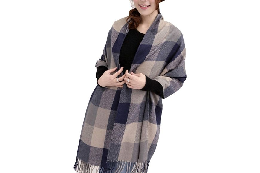 Wander Agio Women's Fashion Long Shawl.