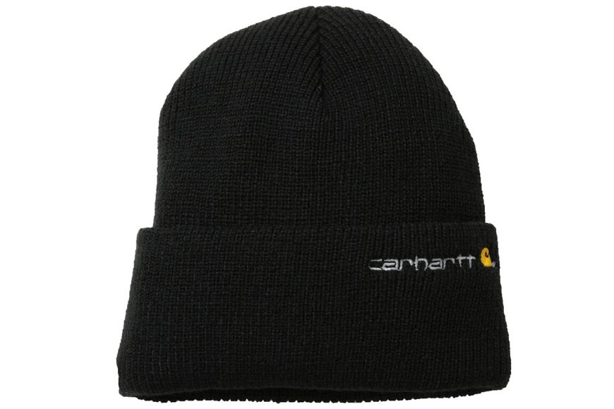 carhartt winter black beanie.