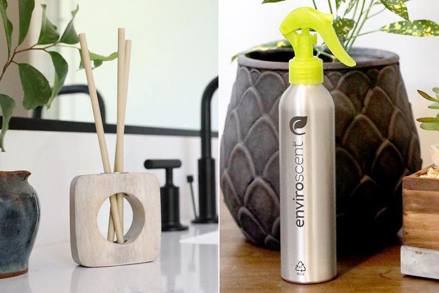 enviroscent diffuser and spray product stills