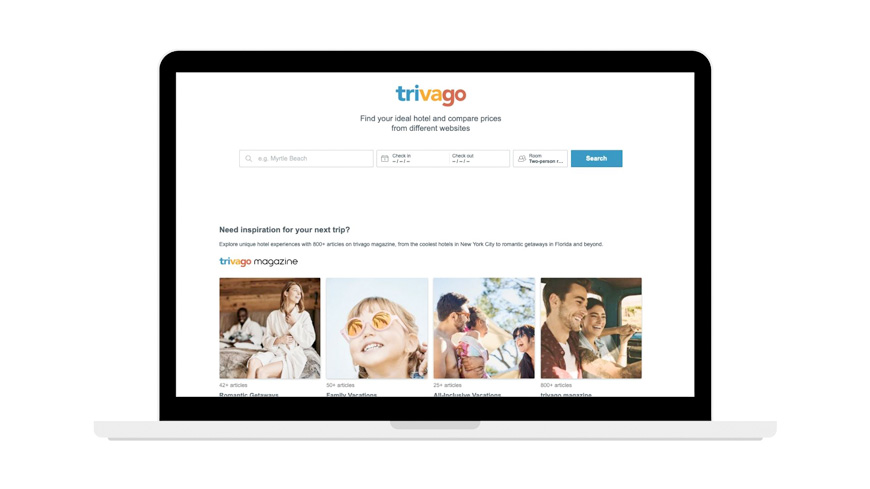 trivago screenshot