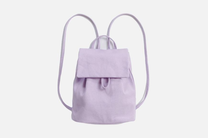 Canvas Mini Backpack.