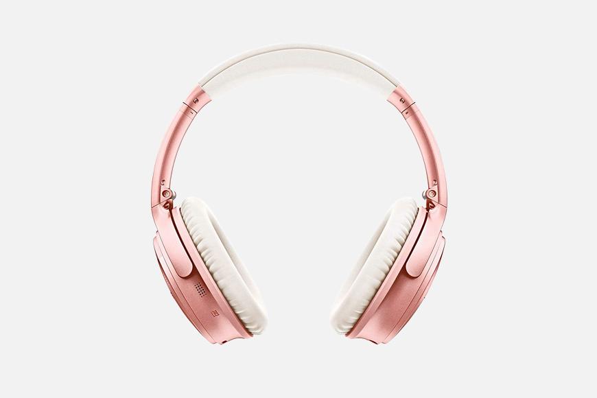 Bose Quiet Comfort Bluetooth Headphones.