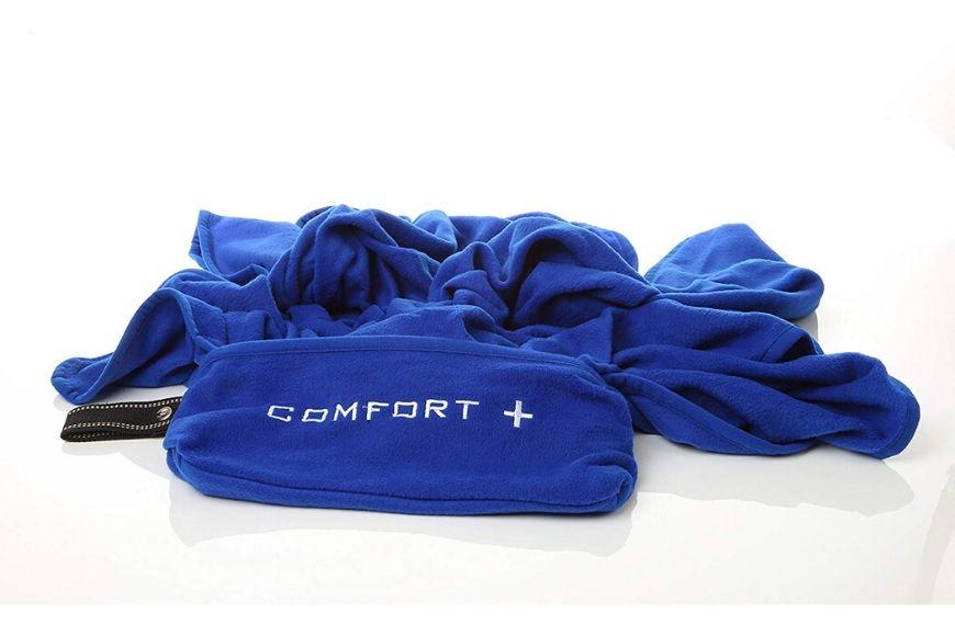 Comfort Plus 3-in-1 Premium Travel Blanket.