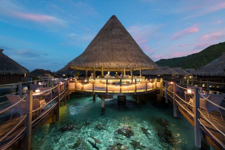 Hilton Moorea Lagoon Resort.