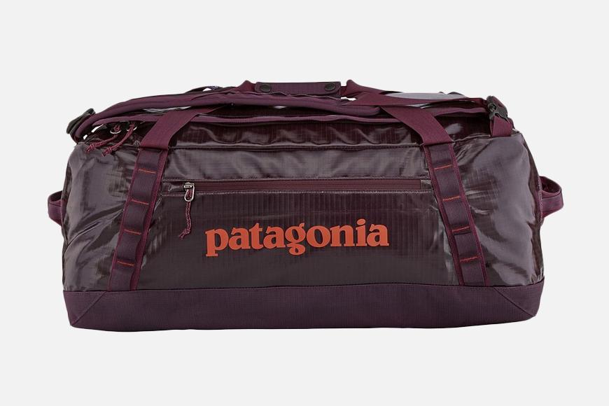 Patagonia Black Hole 55L Duffel Bag.