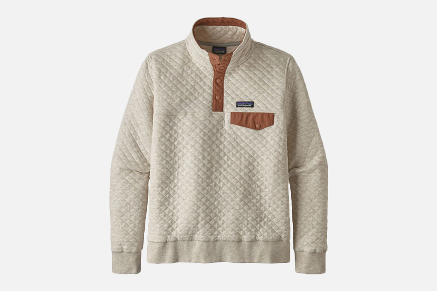 Patagonia Organic Cotton Quilt Snap-T Pullover Sweatshirt - Women's.