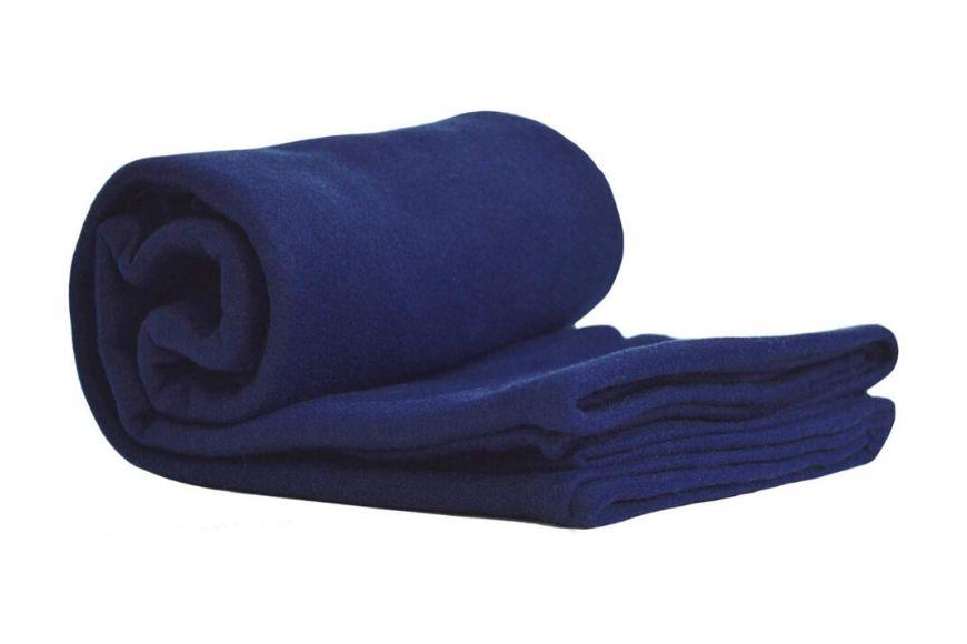 World's Best Cozy-Soft Microfleece Travel Blanket.