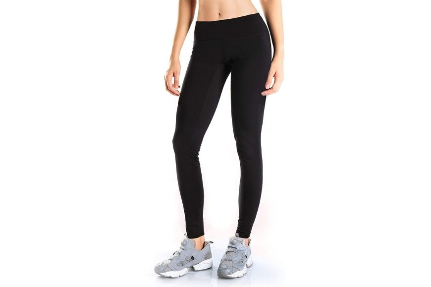 Yogipace Fleece-Lined Thermal Tights.