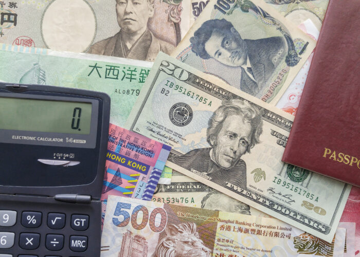 bank notes cash currency calculator