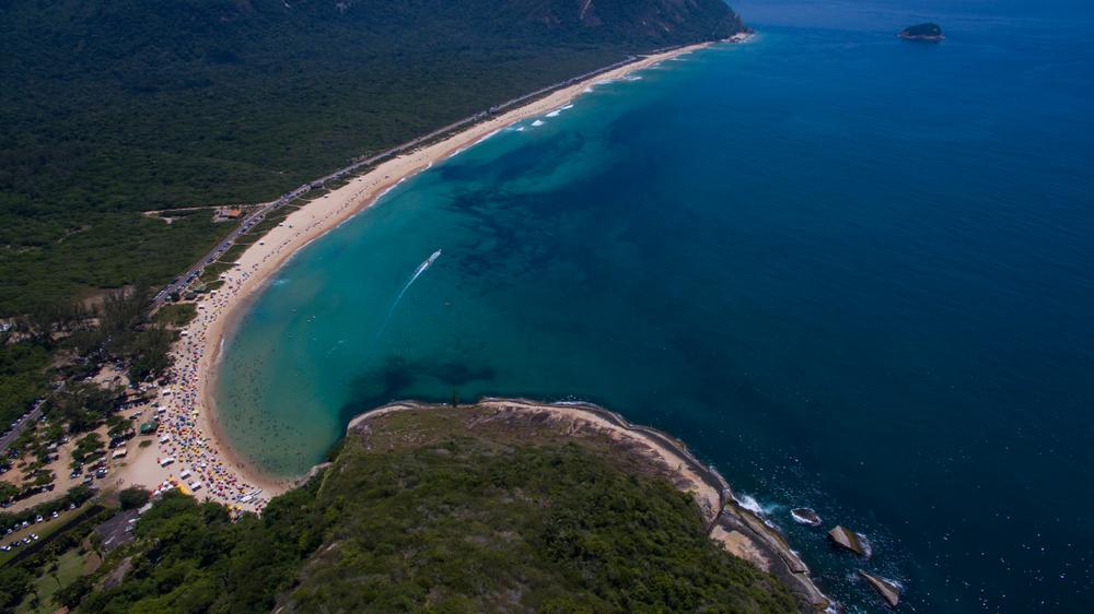 Paradise beach, beautiful beach, wonderful beaches around the world, Grumari beach, Rio de Janeiro, Brazil, South America Brazil