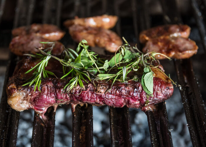 steak on parrilla buenos aires.