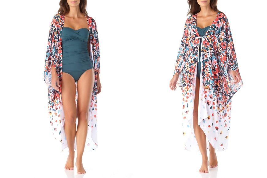 Anne Cole Maxi Robe Coverup.