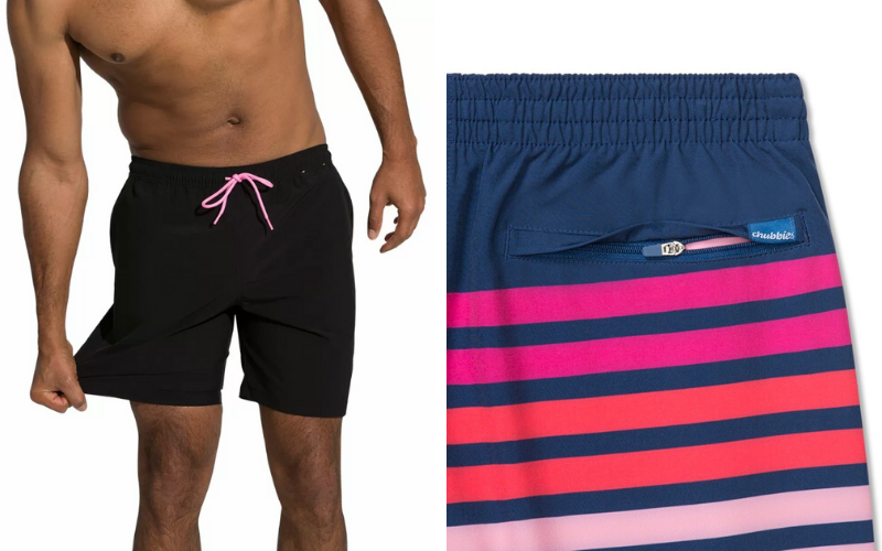 two male bathing suit styles