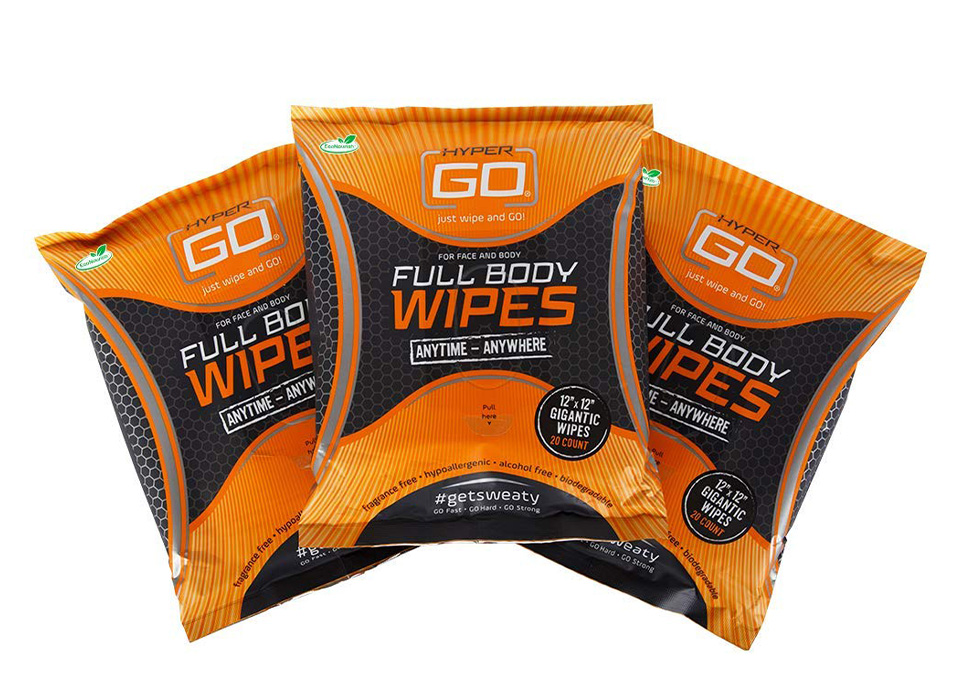 HyperGo Body Wipes
