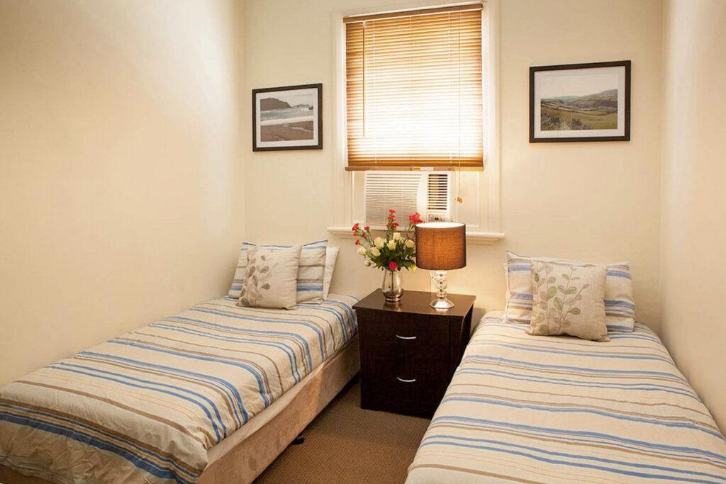 Twin room at Jack Duggans Irish Pub in Bathurst