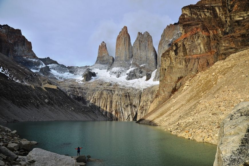 Patagonia Torres del Paine Three Giant.