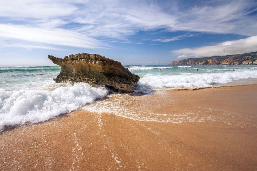 praia do guincho portugal.