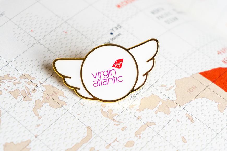 Virgin Atlantic Airline Wing pin.