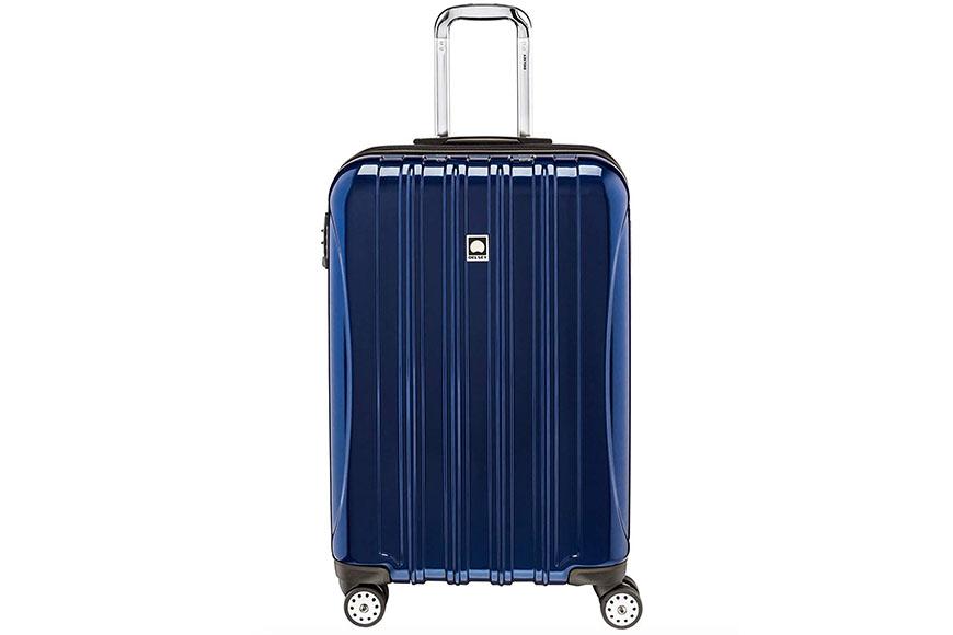 delsey aero hardside suitcase.