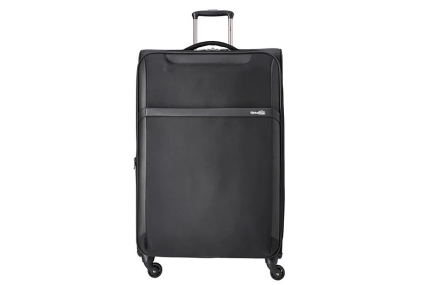 genius pack 30 inch spinner upright suitcase.