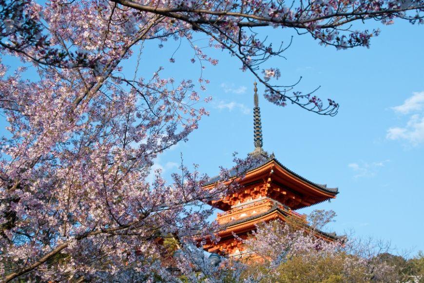 Kiyomizu-dera Temple kyoto japan.