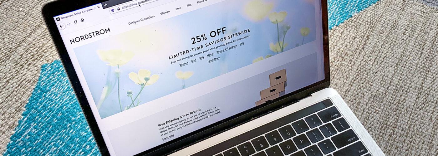 Nordstrom online sale laptop