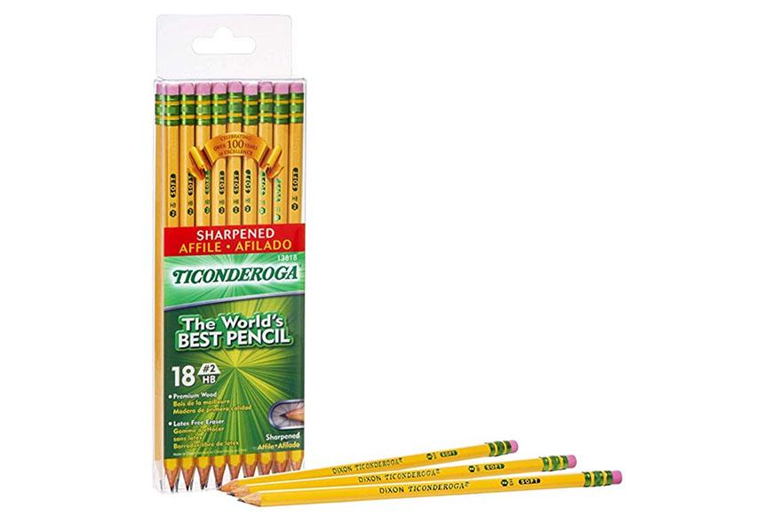 Ticonderoga pencils.